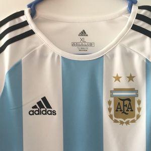 adidas Shirts - Adidas World Cup Jersey Argentina xl